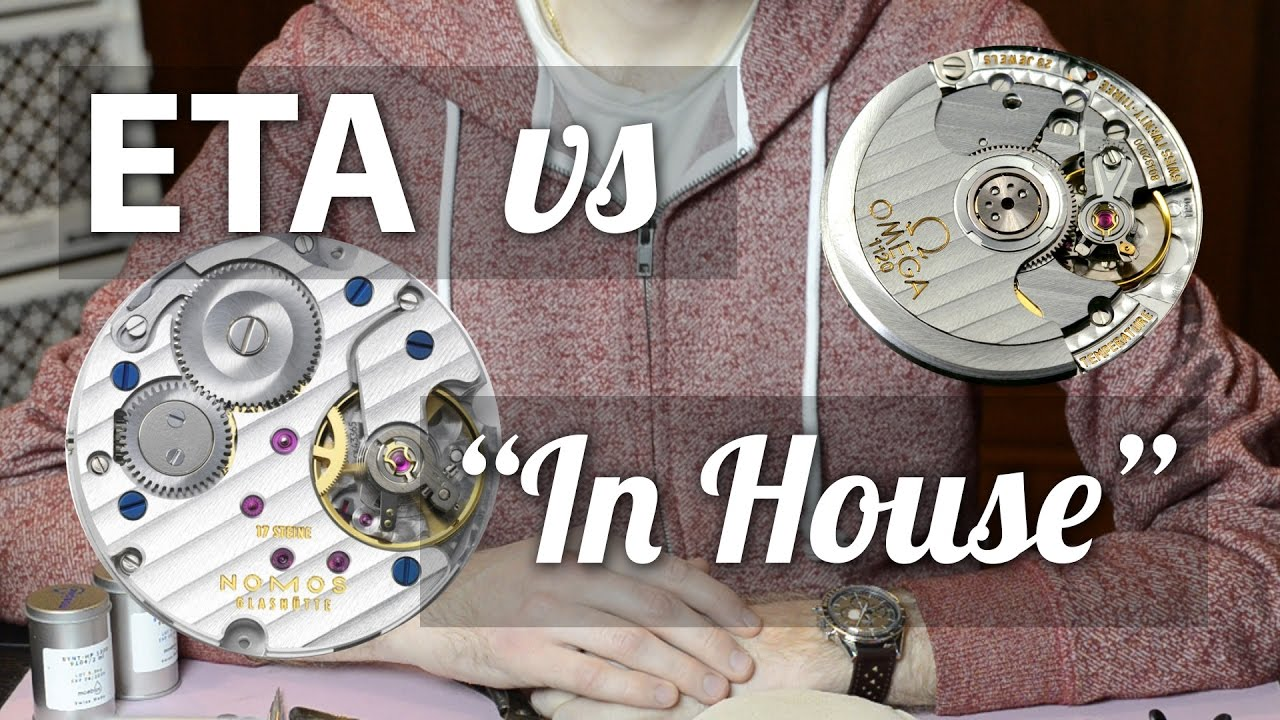 ETA vs In-House Watch Movements