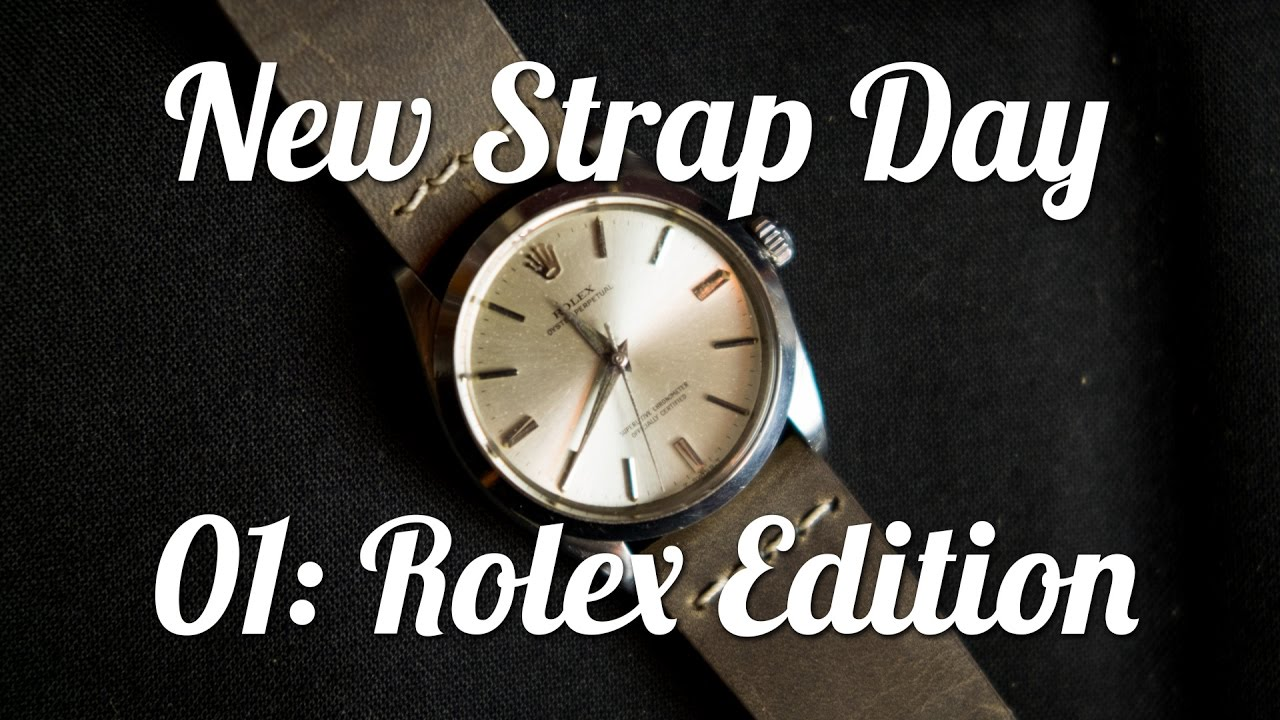 New Strap Day: ColaReb Venezia on a 1962 Rolex Oyster Perpetual