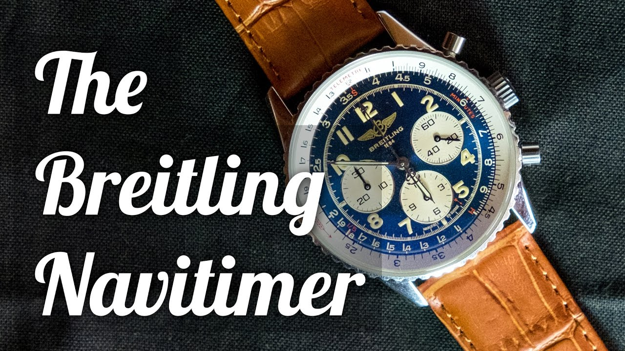 "<span class=""entry-title-primary"">The Breitling Navitimer</span> <span class=""entry-subtitle"">A Review and History</span>"