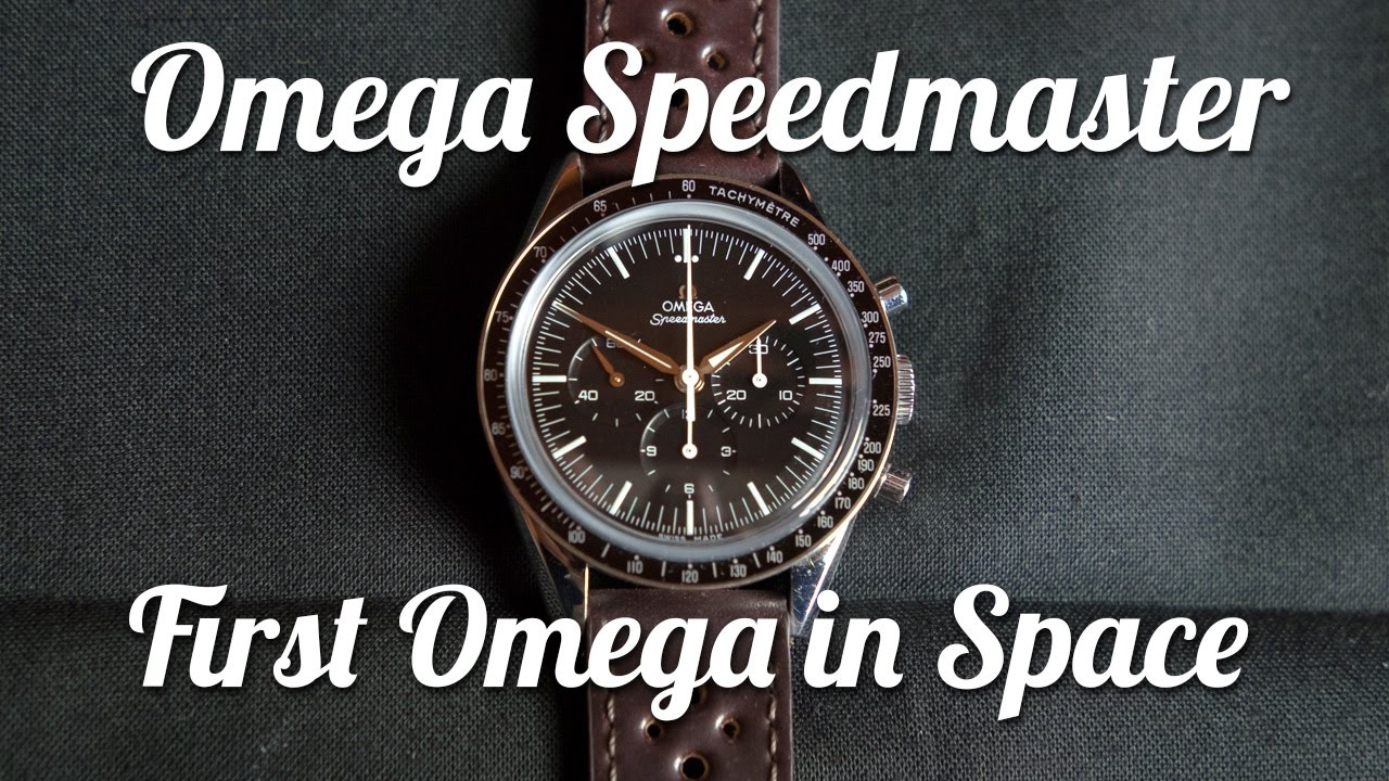 "Watch Review: ""First Omega in Space"" vs Speedmaster Professional"
