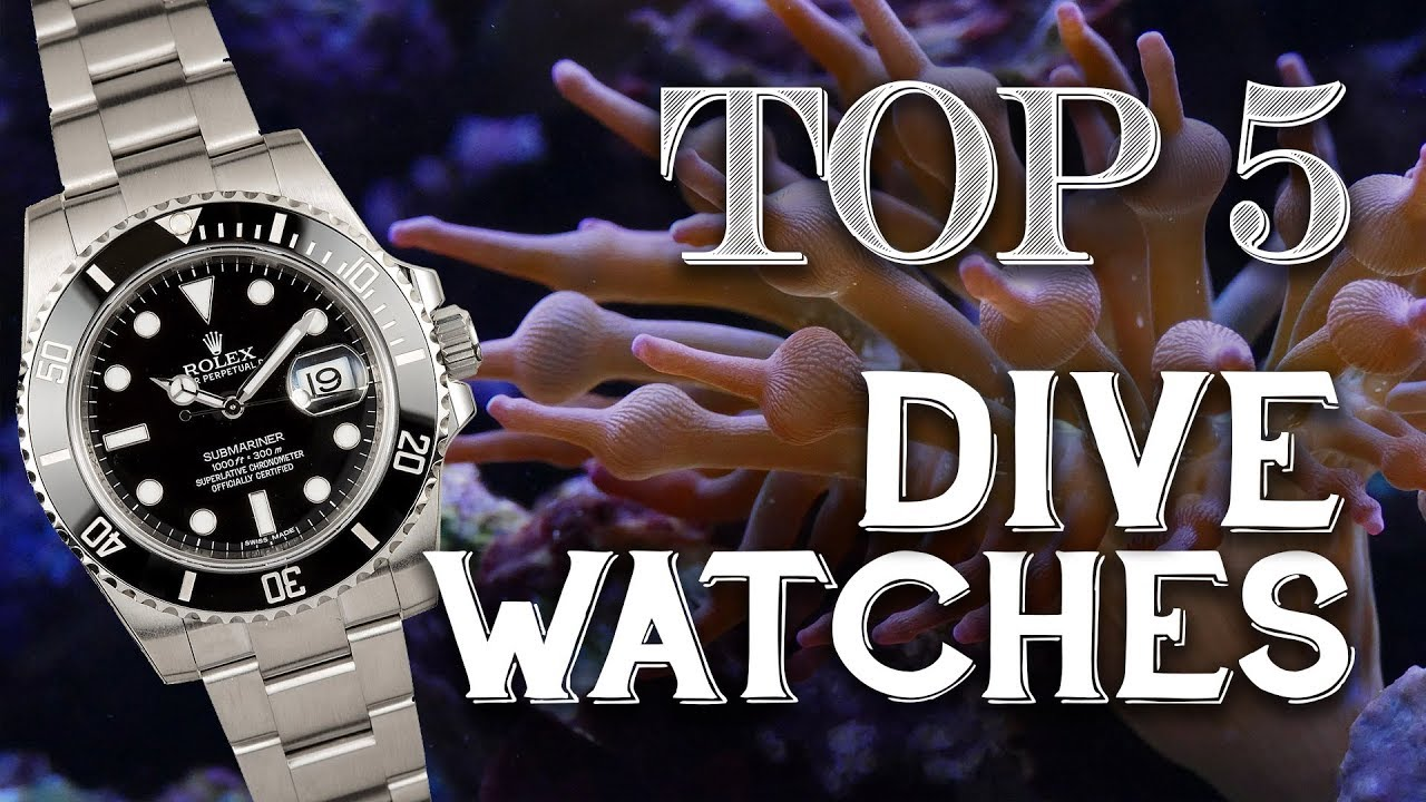 Top 5 Day: Five Iconic Dive Watches