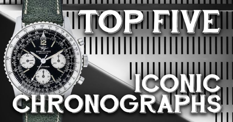 "<span class=""entry-title-primary"">Top Five Iconic Chronograph Watches</span> <span class=""entry-subtitle"">Old Favorites from Heritage Brands</span>"