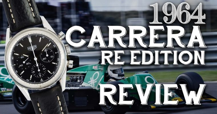 Watch Review: TAG Heuer 1964 Carrera Re-Edition